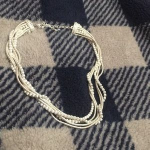Adjustable Fancy Silver Necklace